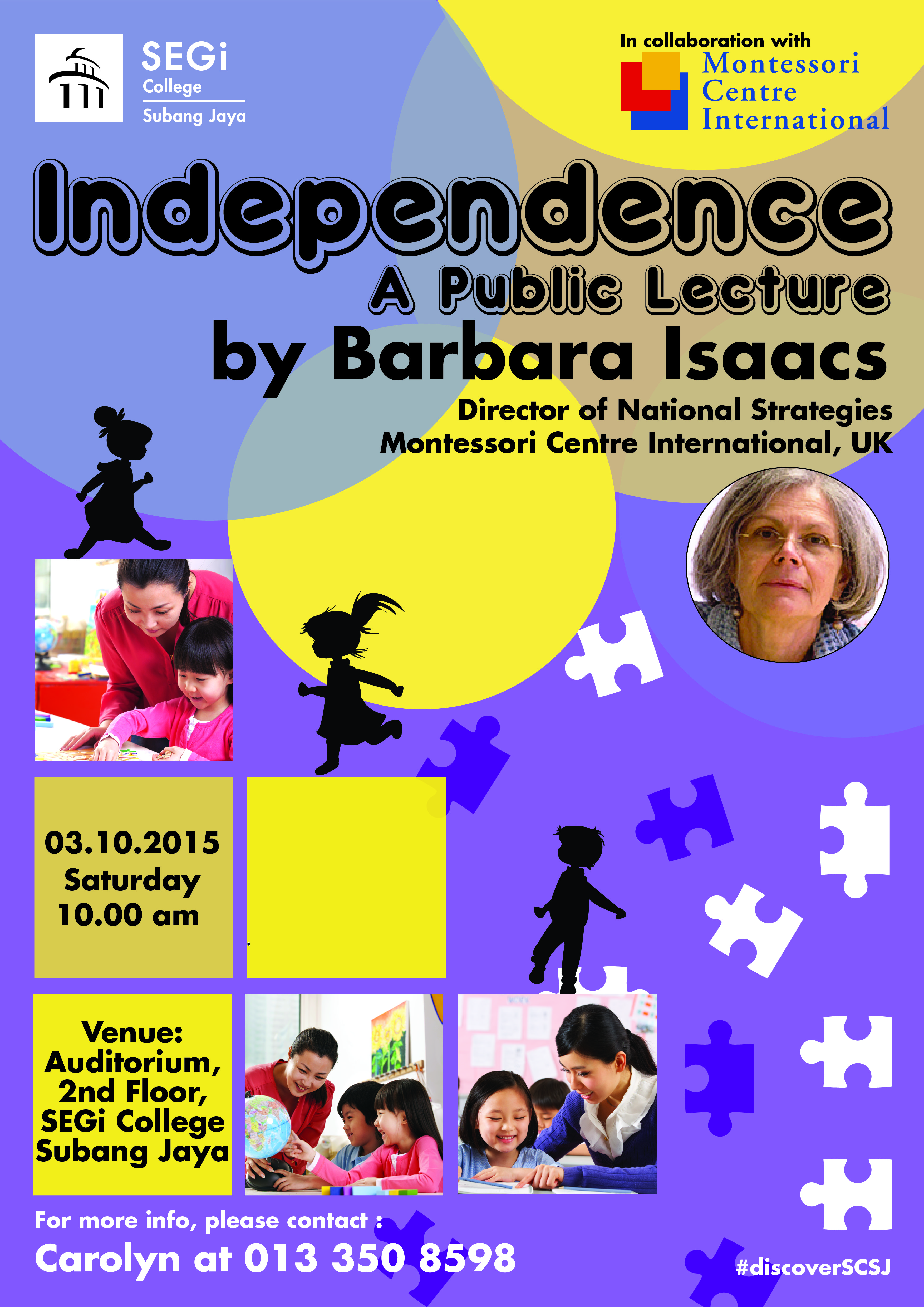 Discover Why Ozark S Julia Garner Needs To Be On Your Hair: Barbara Isaac's Talk On Independence 3 Oct 2015 At SEGi