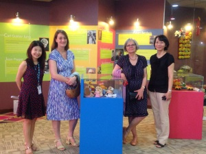 Barbara and Penny at the SEGi Early Childhood Showcase Centre